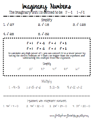 Printables Complex Numbers Worksheet 1000 images about complex numbers on pinterest worksheets and math
