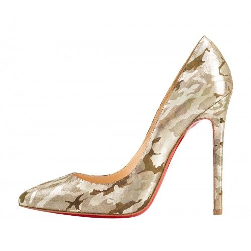 OnlyMaker Women Pointed Toe Smart Pumps Camouflage
