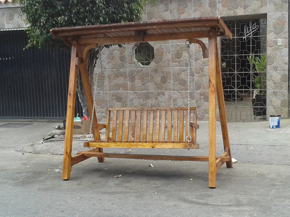 Como Hacer Un Columpio De Madera Para Jardin Outdoor Furniture Home Decor Decor