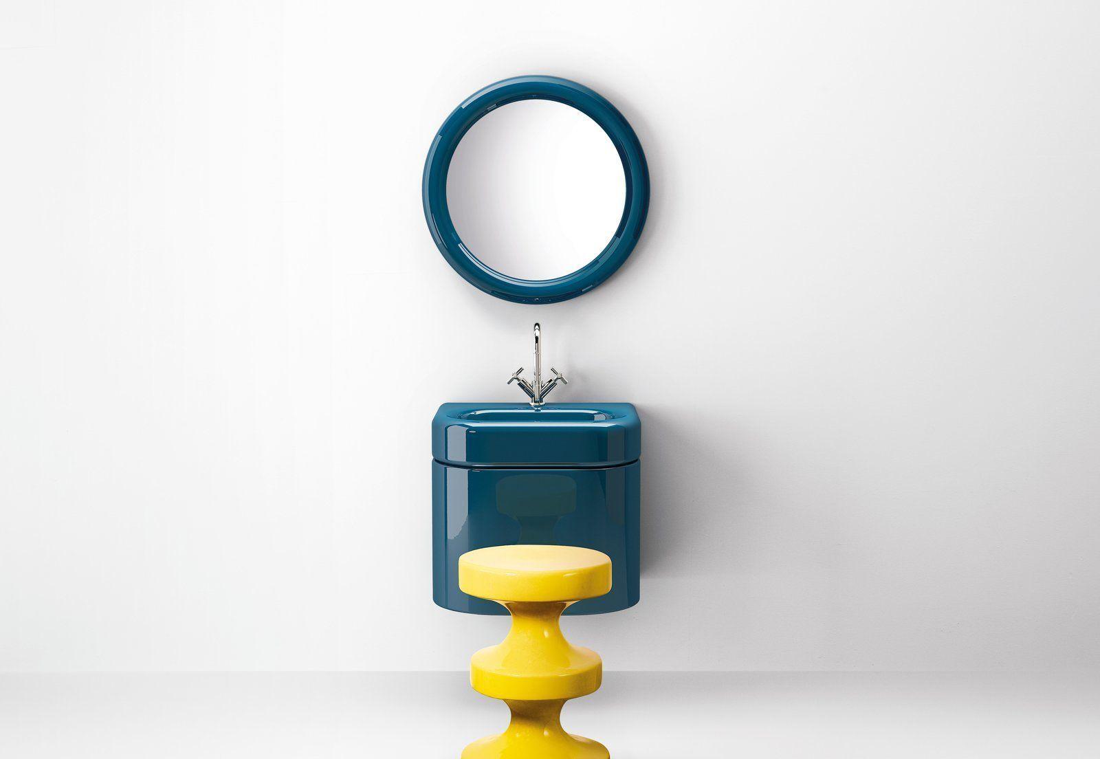 Photo of 2019 Modern Bathroom Fixture Trend: Bold, Retro Colors bathroomfixtures The col….