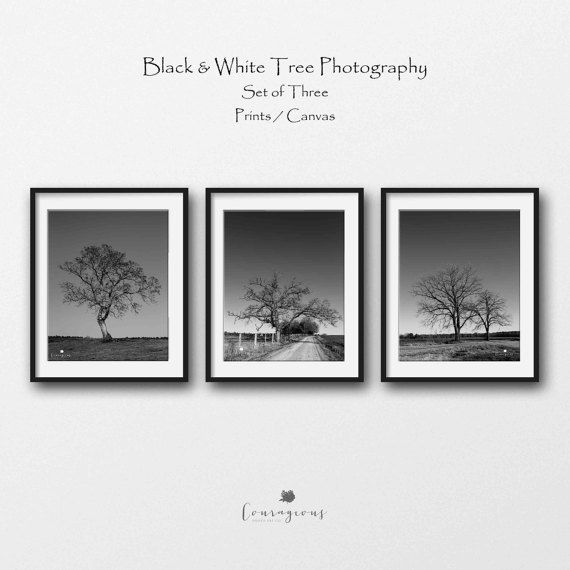 Tree Landscape Photography Prints Modern Farmhouse Decor Etsy Rustic Nursery Wall Art Rustic Nature Decor Landscape Photography