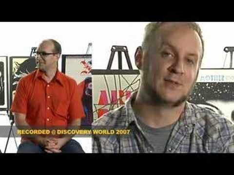 Discovery World in Milwaukee, Wisconsin, presents an understanding of the screenprinting process in an interview with the artists of Aesthetic Apparatus.