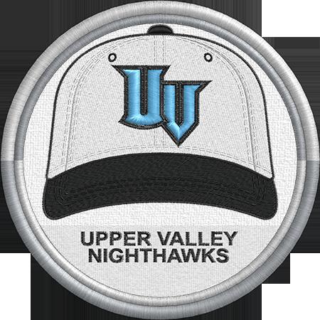 Upper Valley Nighthawks Baseball Cap Hat Uniform Sports Logo New England Collegiate Baseball League M Minor League Baseball Baseball League Sports Logo