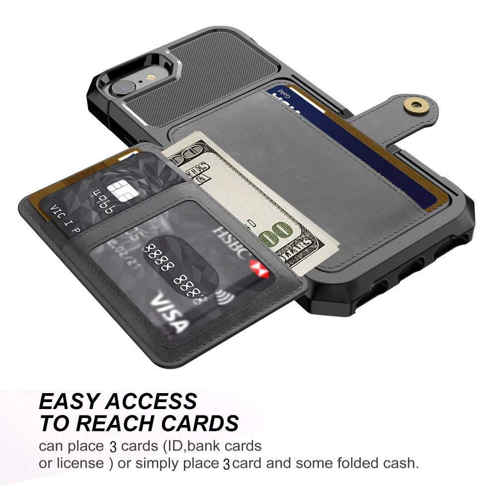 iphone 7 coque wallet