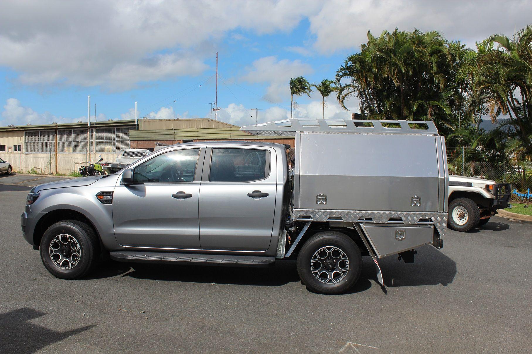 Ford Ranger Aluminium Canopy & Ford Ranger Aluminium Canopy | Slide on campers | Pinterest ...