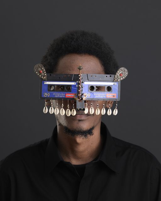 Cyrus Kabiru, 'Njia Ya Maisha Macho Nne Throwback,' 2015, SMAC ART GALLERY
