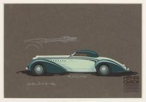 Delahaye Racing by Henri Chapron