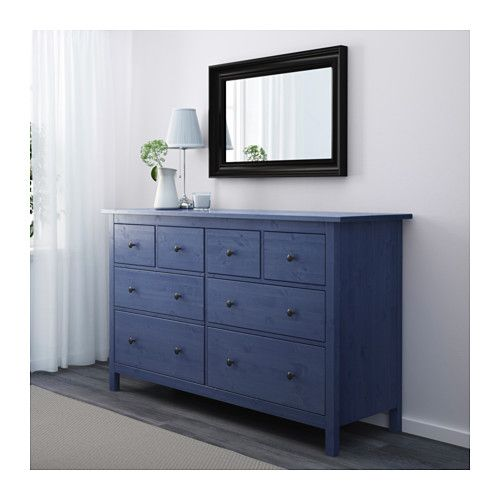Hemnes 8 Drawer Dresser Blue Ikea