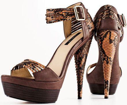Rachel Zoe Platform Ankle Strap Sandal Detail Usd325