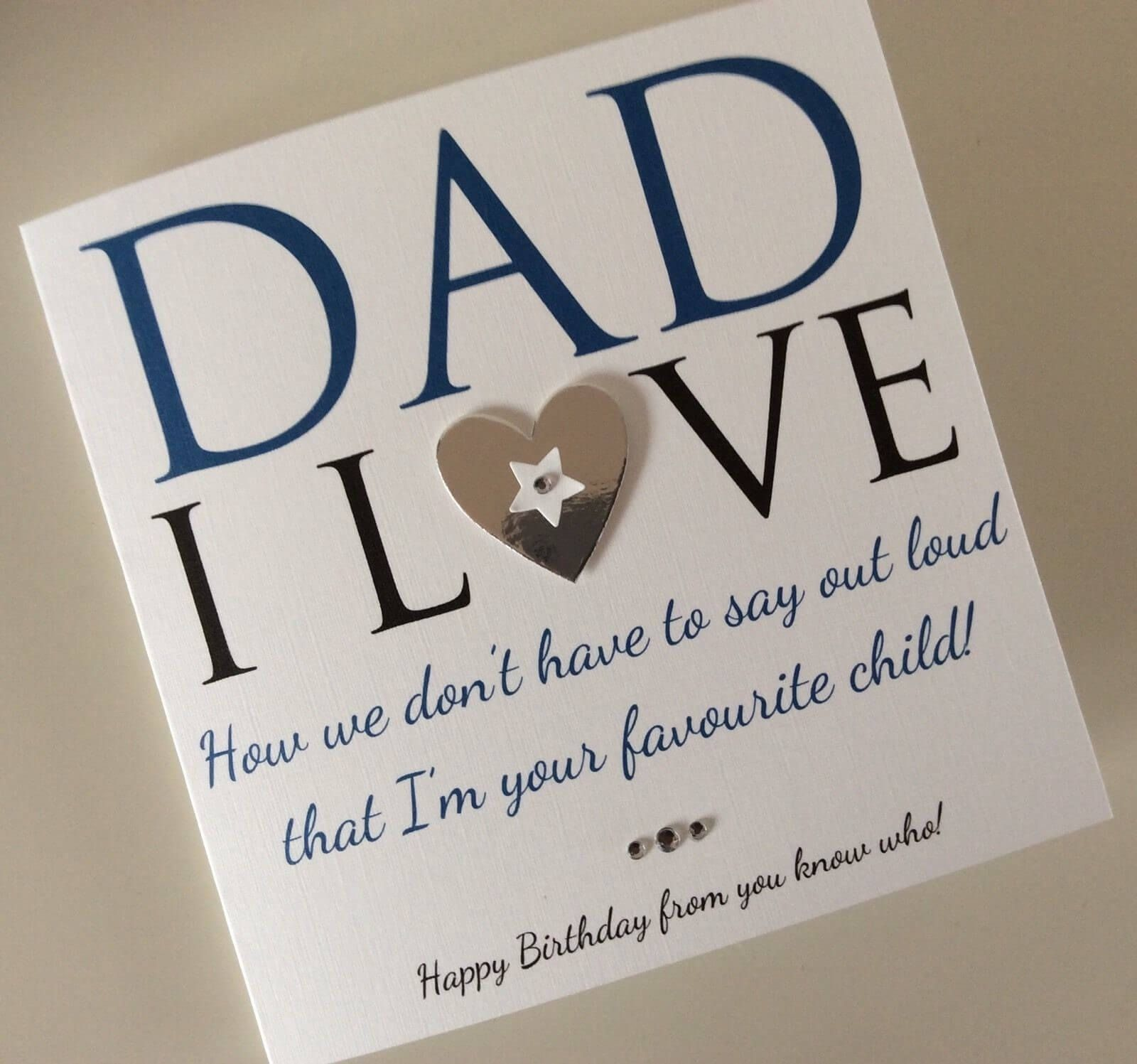 Diy Birthday Card Ideas For Dad Home Ideas Father