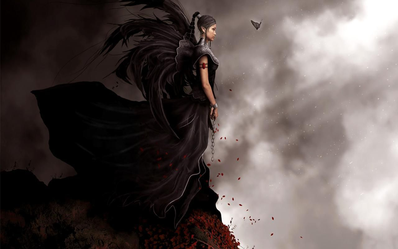 Dark Fantasy Fairies Dark Fairy Wallpapers Wallpaper