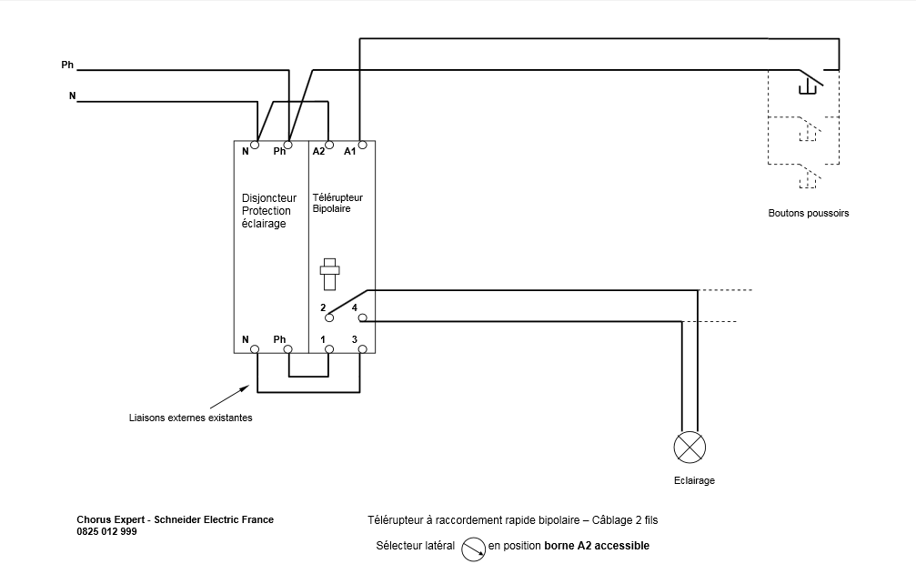 Schema De Raccordement Télérupteur Schneider Schéma électrique Telerupteur Schneider Electrique
