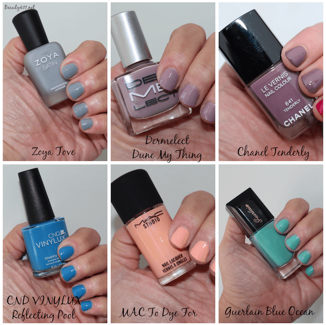 Spring Summer 2017 Nail Polish Trends Swatches Of My Favorites
