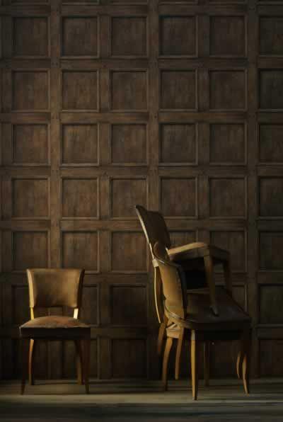 Wood Panels Interior Wallpaper Contemporary Wallpaper Eclectic Wallpaper
