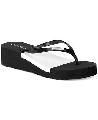 Wedge flip flops, Flip flop shoes