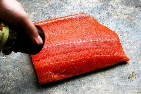 Salmon Teriyaki Recipe #salmonteriyaki saltandpeppersalmon {Simple & Wonderful} Grilled Salmon Teriyaki #salmonteriyaki