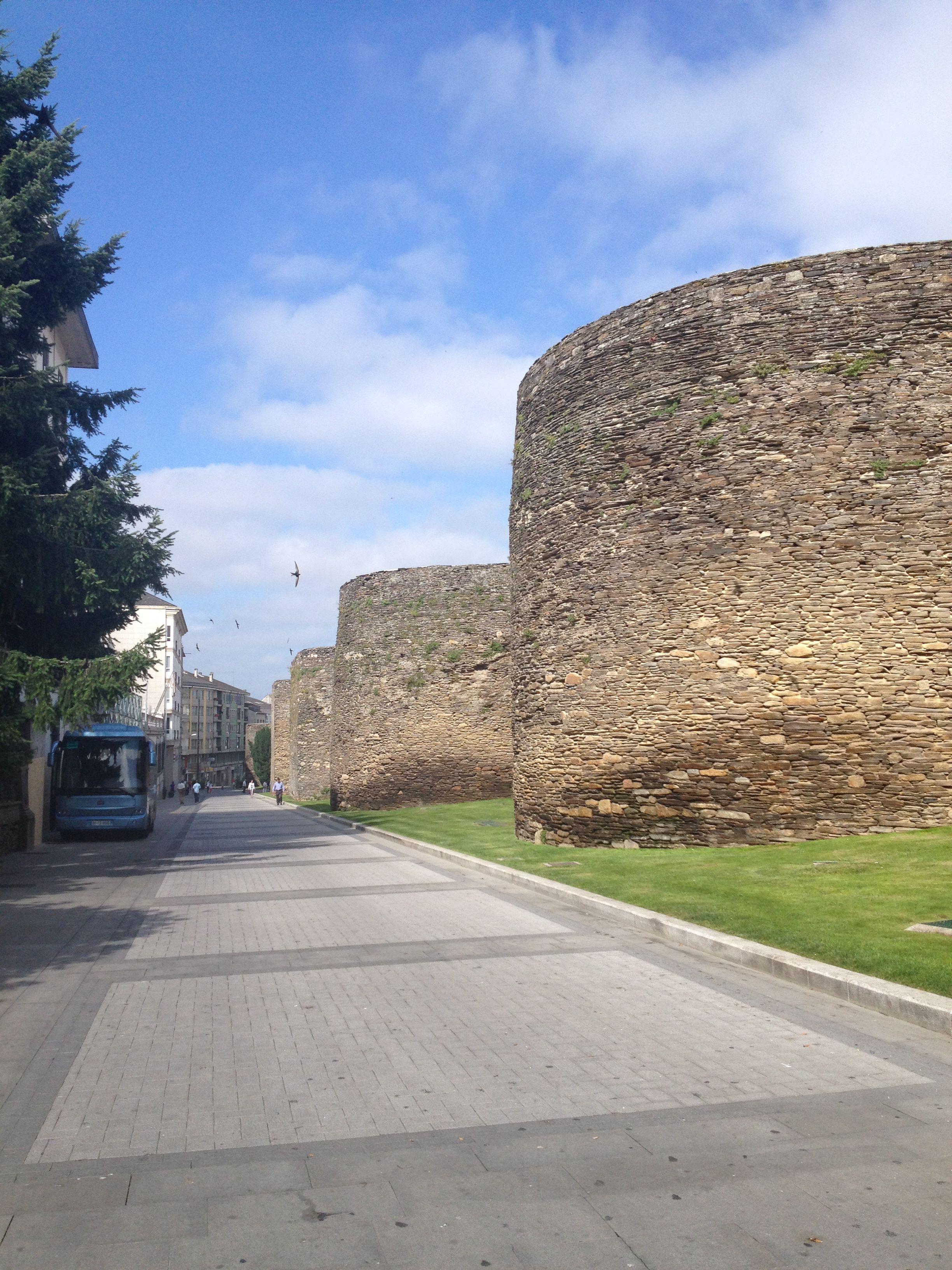 Muralla romana, Lugo