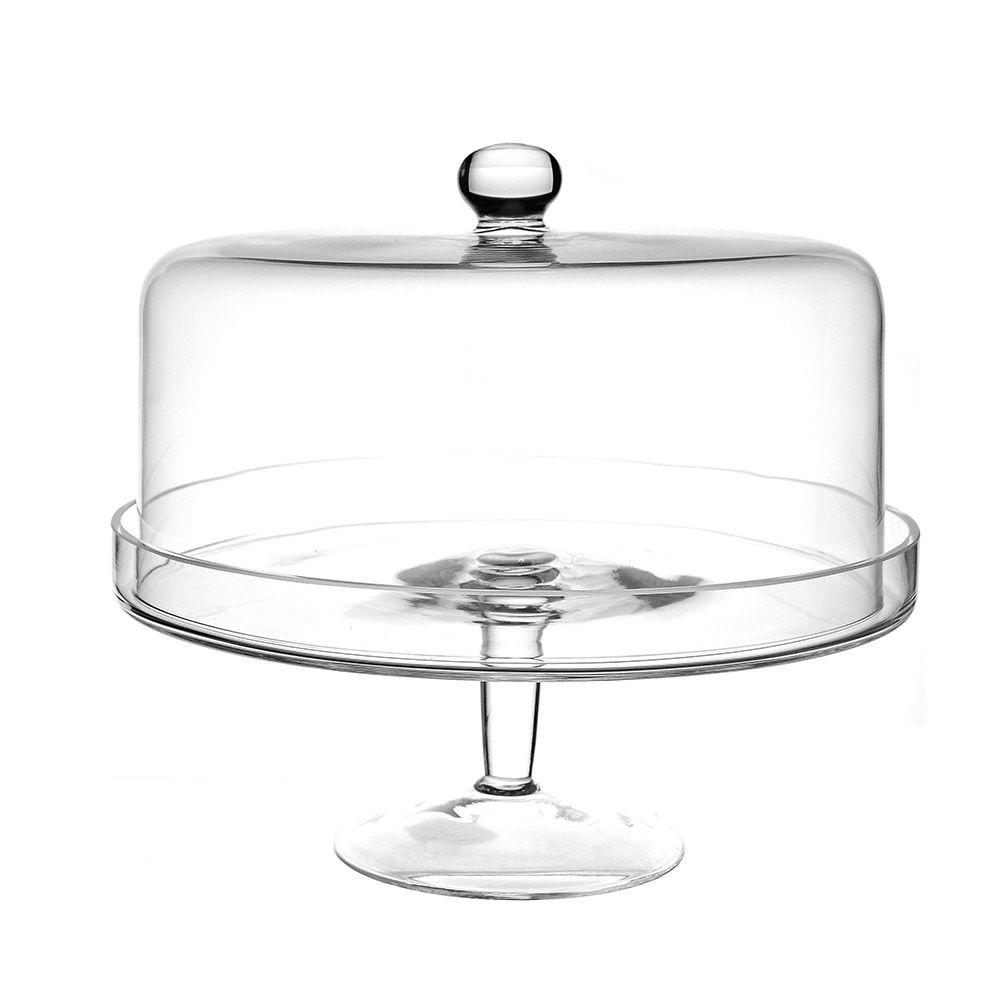 Cake stand dome glass 32cm cake holder glass glass