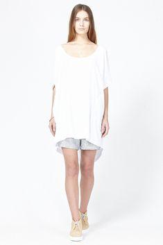 Shaina Mote Lasaine Dress (White)