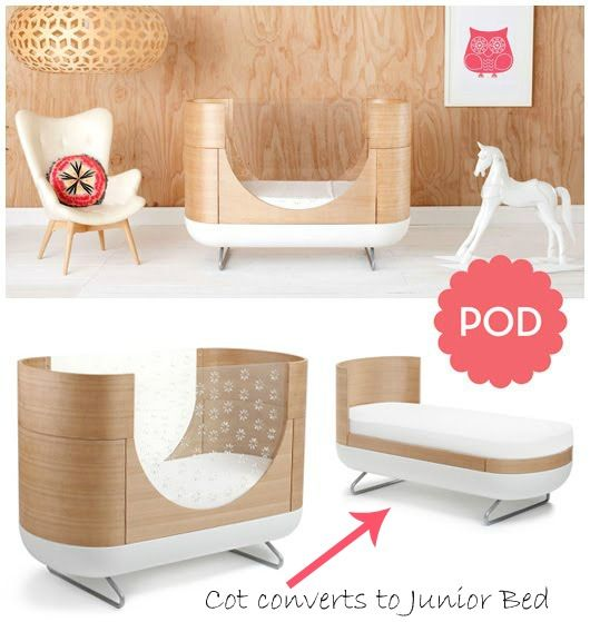 The Design Chaser Kids Style Pod Cot By Ubabub Baby Decor