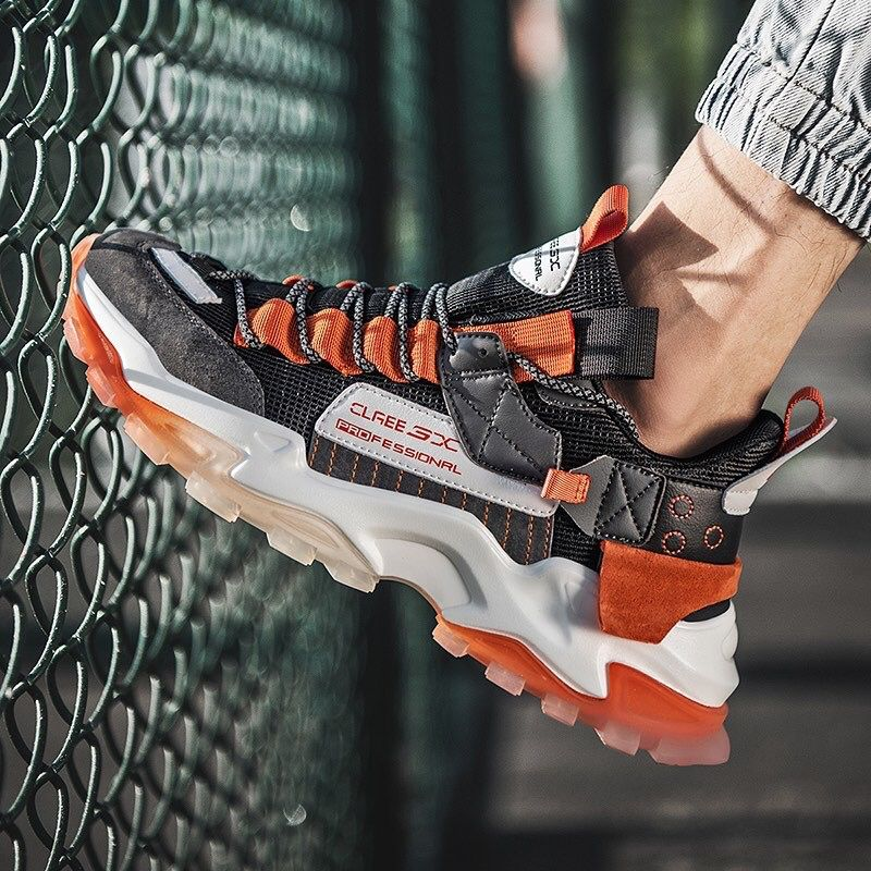 Introducing our NIMROD 'Akkadian Rebel' X9X Sneakers in the Black/Orange colourway. Visit our website for more. #sneakers #sneakerhead #sneakersaddict #sneakersnike #sneakersworkout #sneakershop #sneakerart #shoes #shoeshighheels #shoesaddict #shoesforsale #shoesforwomen #shoesporn #shoesnike #nike