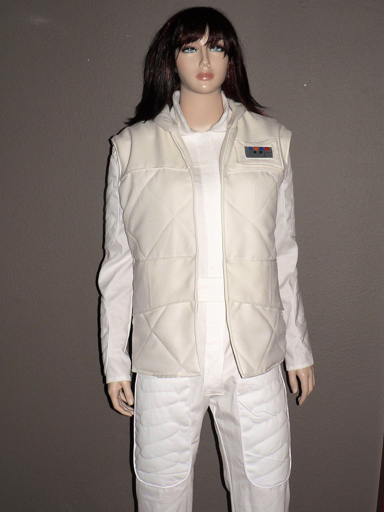 b1f325bf826b Princess Leia Hoth White Jumpsuit With Vest