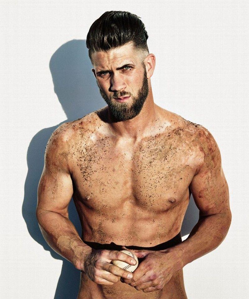 Bryce Harper for ESPN's 2015 Body Issue