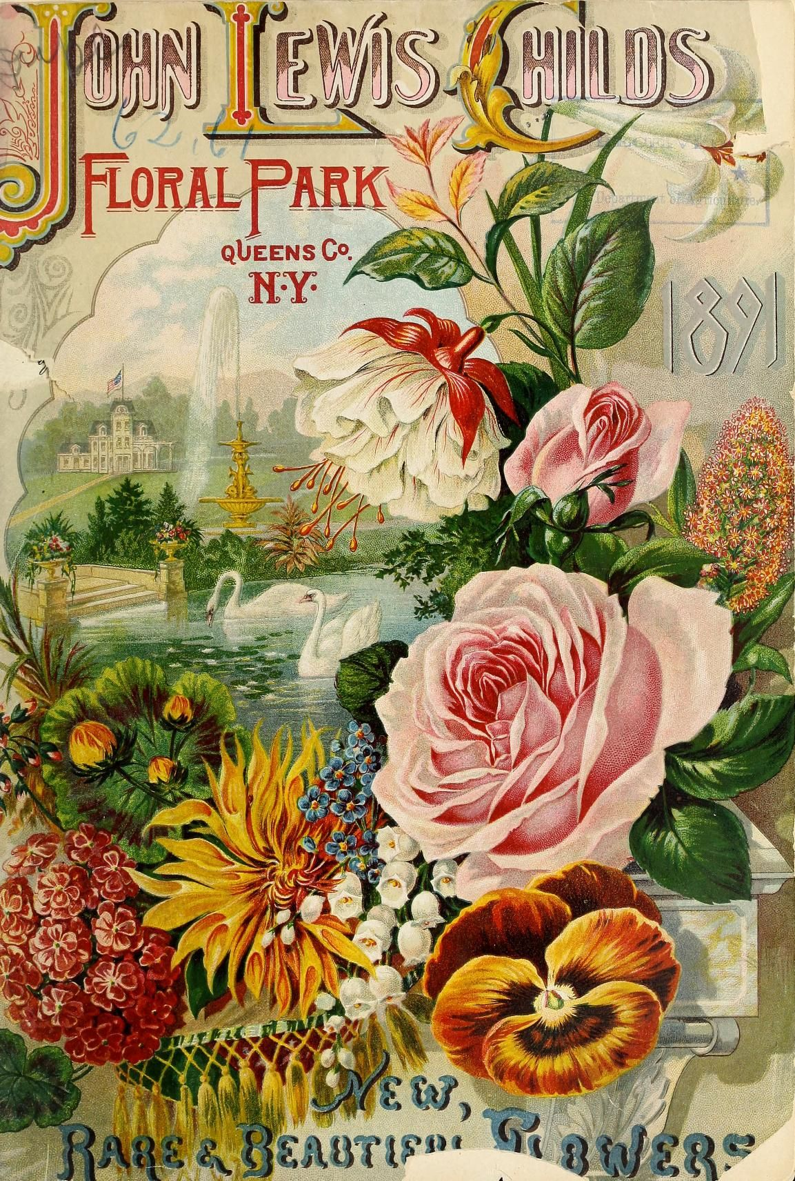 John Lewis Childs Firm Henry G Gilbert Nursery And Seed Trade Catalog