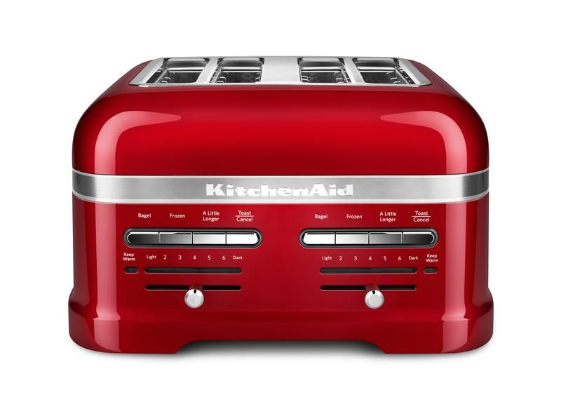 Amazing Kitchen Aid Red Appliances Toaster
