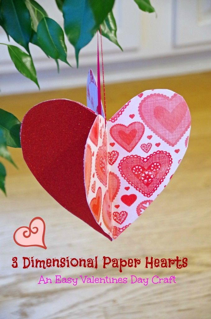 Easy Valentine Crafts Part - 45: Valentineu0027s Day Crafts Adults | This Easy Valentines Day Craft Idea Is Fun  For Both Adults