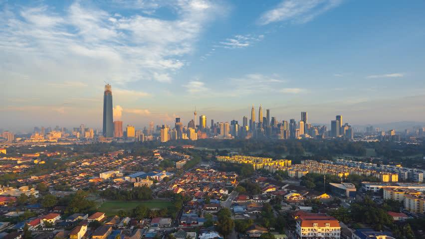 Time Lapse Kuala Lumpur City Stock Footage Video 100 Royalty Free 1013688341 Kuala Lumpur City Kuala Lumpur City View