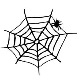 free black and white halloween clip art - Halloween Black And White
