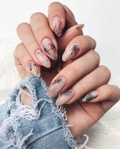 57+ Mejores Diseños de Uñas en Tendencia (2019)
