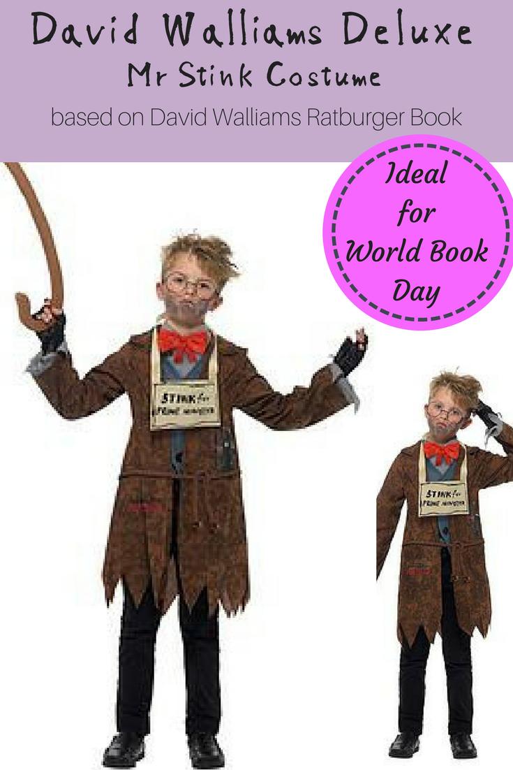 Childs David walliams ratburger Costume Libro Day Outfit Da Smiffys