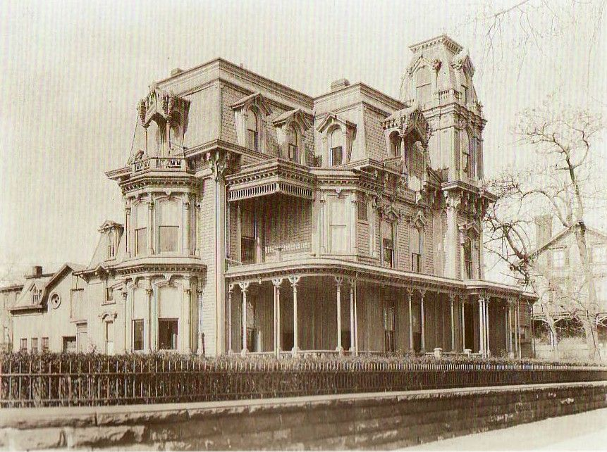 Gray Terrace  The Home Of Robert Wood Johnson, It Was Torn Down To