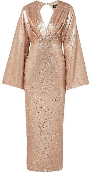 0fbb4dc9dc5d Star Glitter Jersey Long Sleeve Gown in 2019