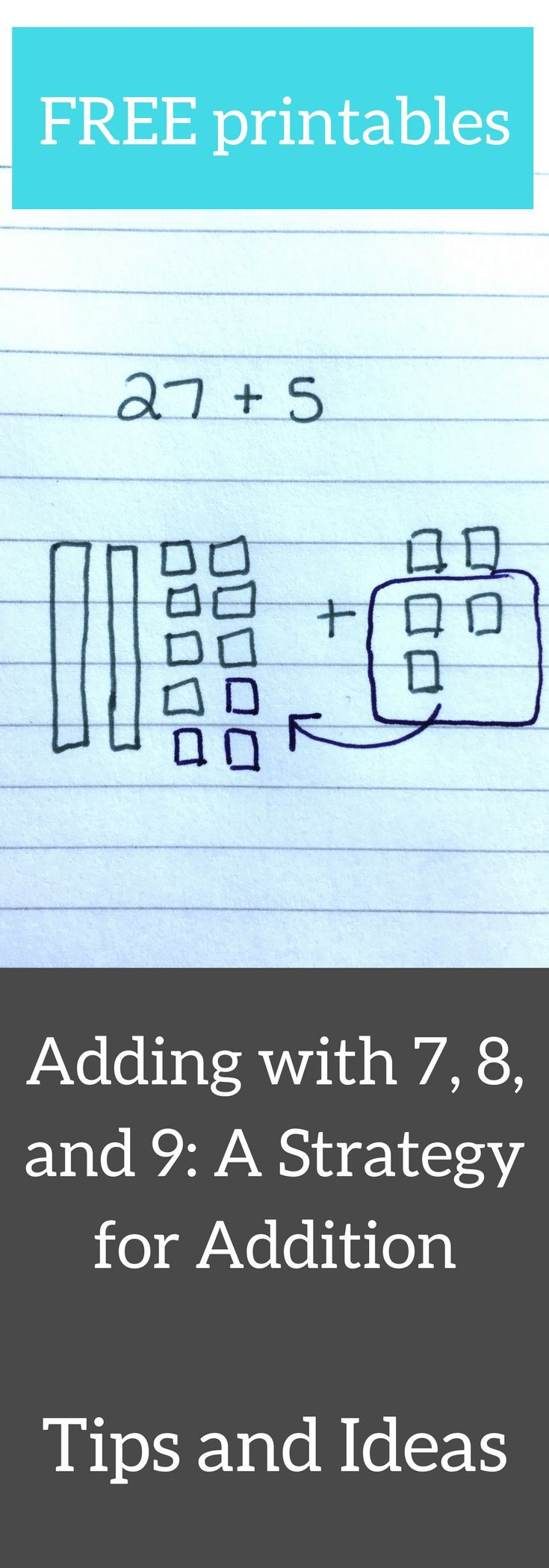 Plus 7, 8, and 9: An Addition Strategy | 4th Grade Math | Pinterest ...
