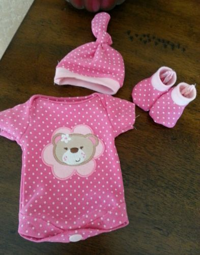 "10"" reborn baby doll clothes OOAK"