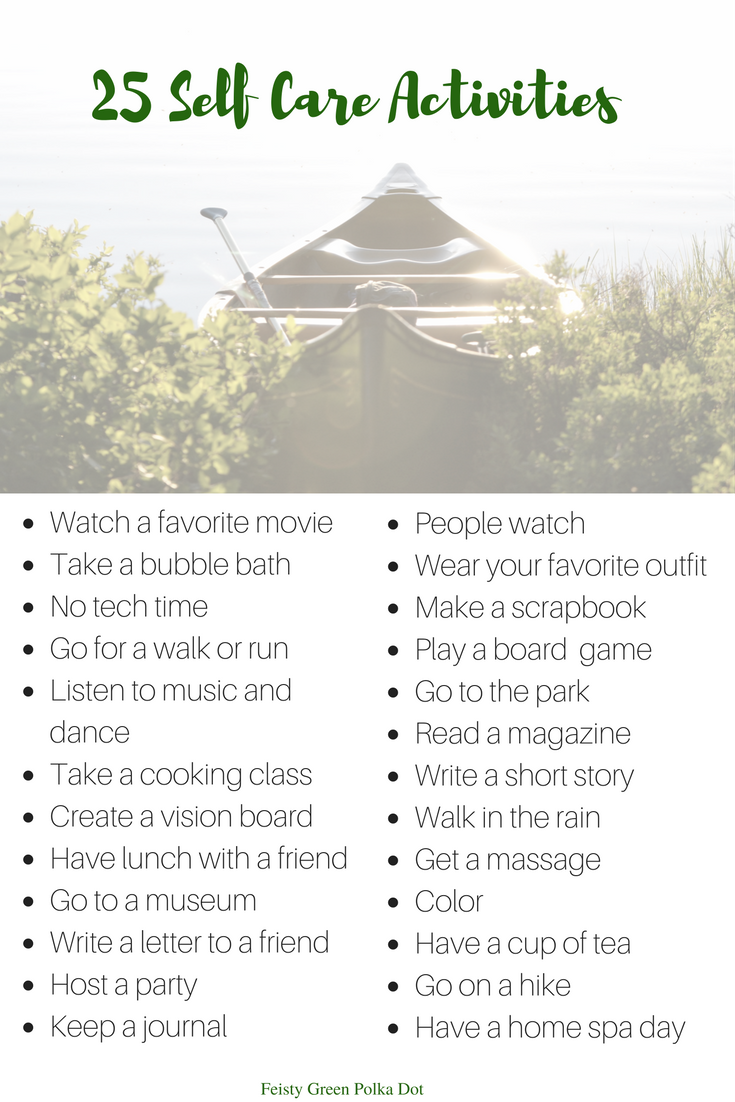 Guide to self care plus activity list activities check and mental check out my self care guide and list of self care activities sciox Gallery