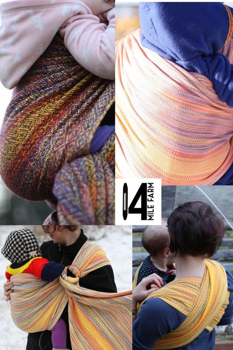 c0d771e7a15 Snowbirding   a handwoven baby wrap by 14 Mile Farm