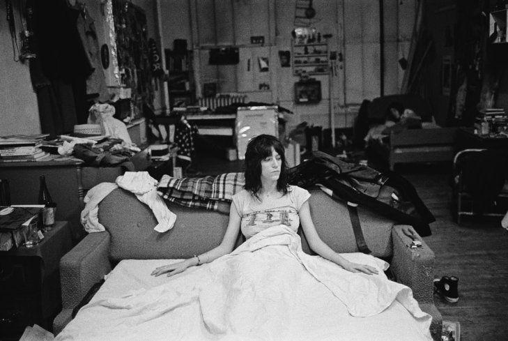 Judy Linn—Feature Inc The loft space on twenty-third street, over the Oasis Bar, shared with Robert Mapplethorpe. 1971