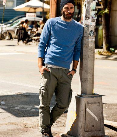Great Look H Gb Moda Ropa Hombre Ropa Casual Hombres Pantalones Cargo Hombre