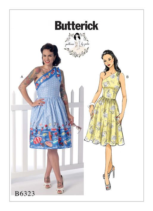 B6323 | Patterns, Sewing patterns and Project ideas