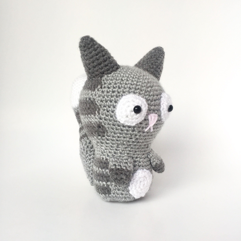 Amigurumi Crochet Pattern: Baby cat   Crochet patterns baby ...