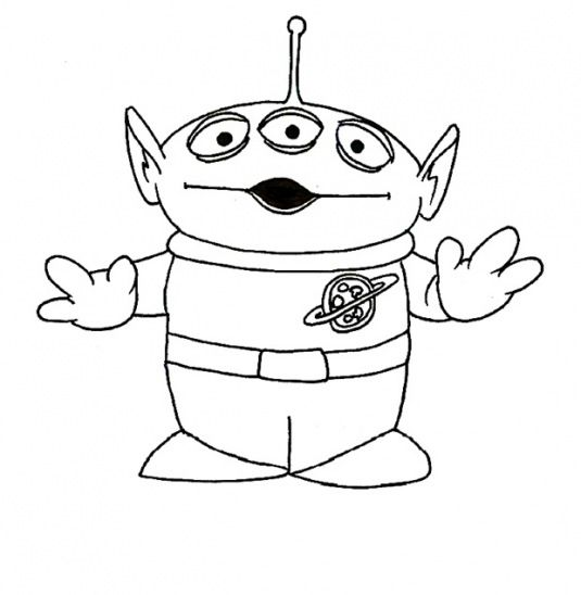 Lazyhazedesigns Toy Story Coloring Pages Toy Story Tattoo Toy Story Alien