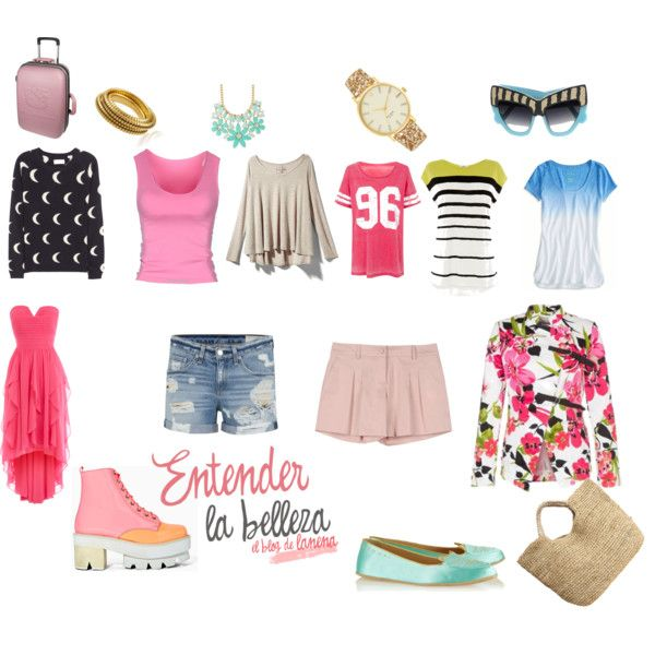 Maleta 4 Días Playa Outfits Fashion Polyvore Image