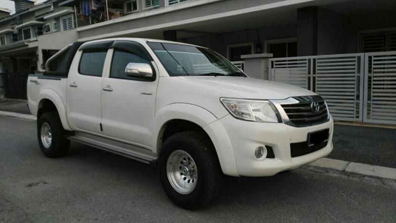 used 2012 toyota hilux 2 5 (a) sambung bayar for sale (rm 25,500) ad Toyota Hilux Diesel