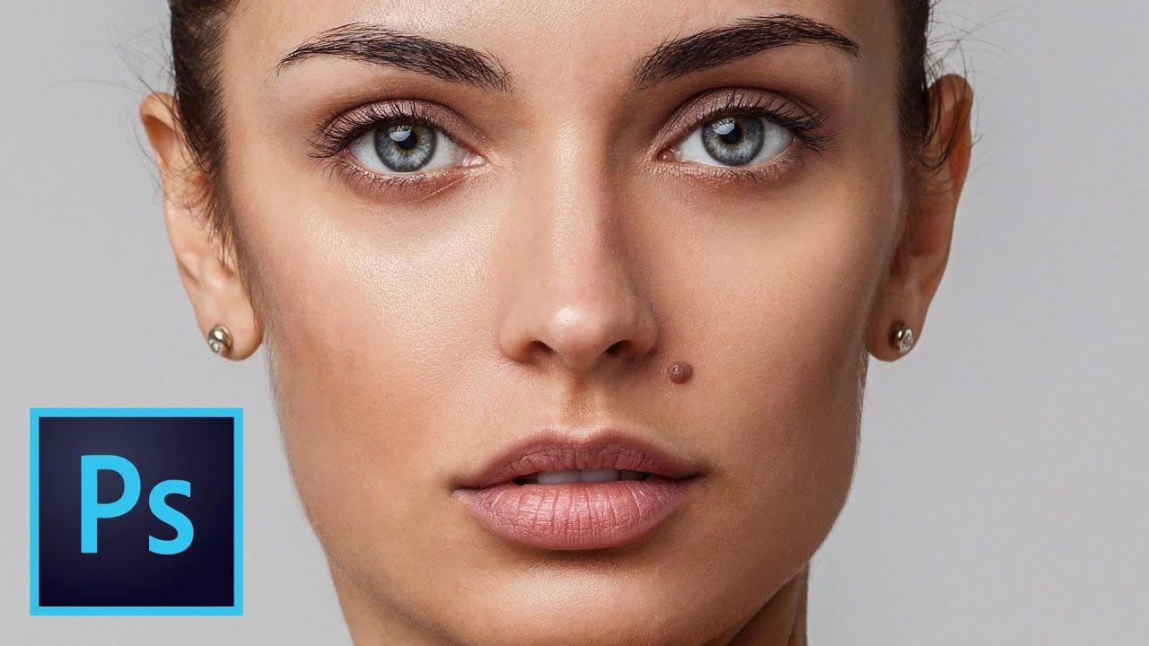 Beauty skin retouching tutorial how to retouch
