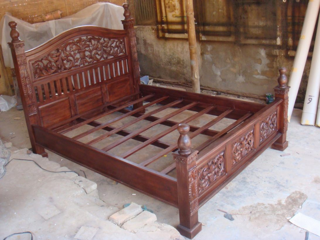 Best 75 Most Mean Reclaimed Wood Bed Frame Wooden Bedroom Decor 400 x 300