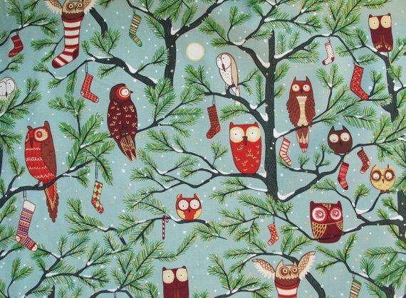 Retro Christmas Fabric By Alexander Henry